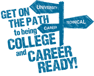 Graphic of college and career readiness.