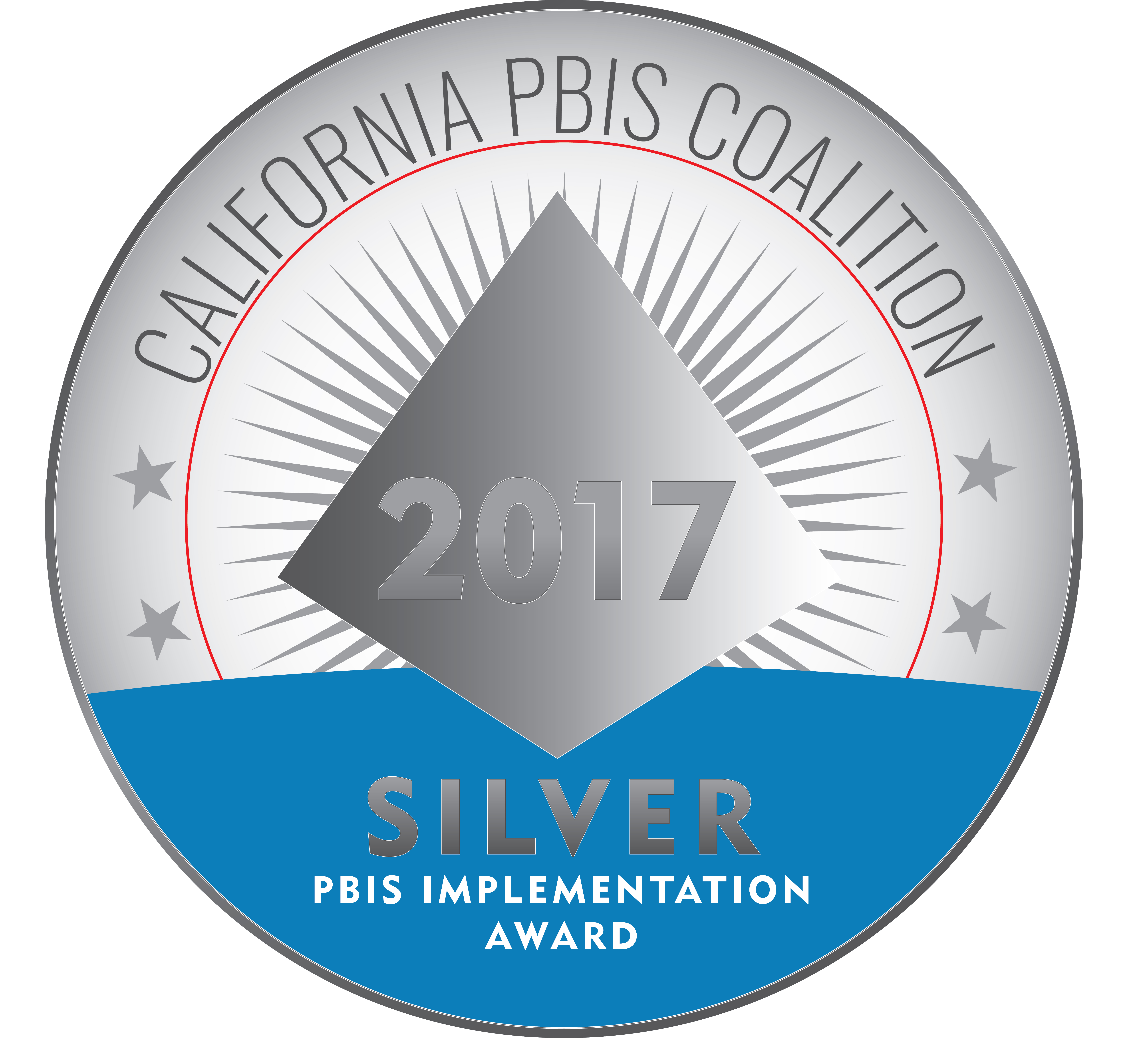PBIS recognition award from the CA PBIS Coalition.